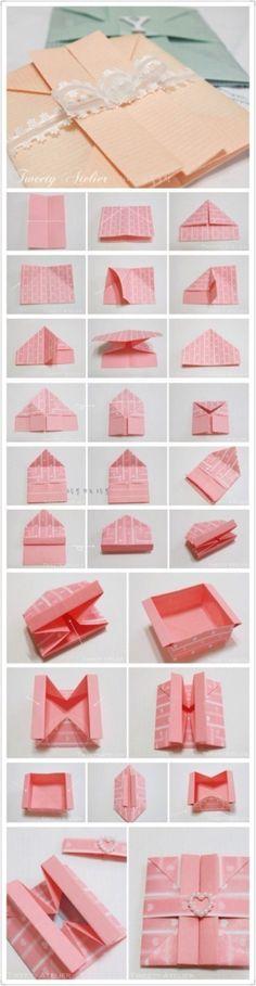 [Tutorial] origami origami papelería Daquan