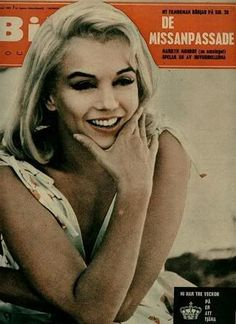 """Bild Journalen - 1961, magazine from Sweden. Front cover photo of Marilyn Monroe on the set of """"The Misfits"""", 1960."""