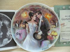 1986 Limoges Gigi Is In Love Collector Plate - D'Arceau - J.Guidou