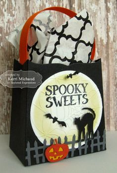 Spooky Sweets Treat Bag
