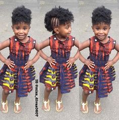 Ankara Xclusive: Latest Ankara Styles: Ankara Styles For Kids That Will Blow your Mind African Babies, African Children, African Women, African Inspired Fashion, African Print Fashion, African Fashion Dresses, African Prints, Africa Fashion, Ghanaian Fashion