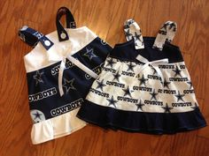 NFL Dallas Cowboys Baby Infant Toddler Girls by HaileyJDesigns