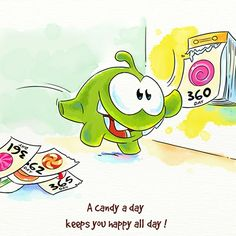 Another one of Om nom's proverbs!