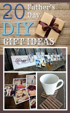 If you're looking for something unique to give a special dad this year, this list of great Father's Day DIY Gift Ideas will help you out!