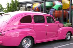 Oh,  I could so see me stylin' and profilin' in Slapout......dream car :o)