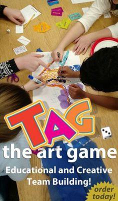 game game art Art Class Awards Creative Id Art Sub Plans, Art Lesson Plans, High School Art, Middle School Art, Art Games For Kids, Class Games, Art Worksheets, Art Curriculum, Wow Art