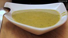 Cream of Broccoli Soup #vegan #soup #vegetarian