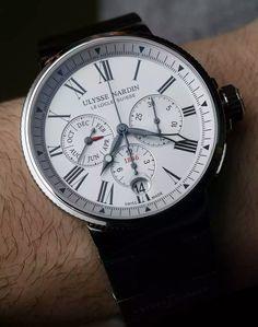 Swiss Replica Ulysse Nardin Marine Chronograph Annual Calendar Watch | Buy Replica Luxury Watches And Swiss Watch, Watch Collection - Rolex, Panerai, Breitling, Omega, Audemars Piguet