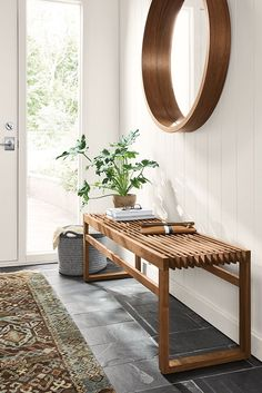 Modest Urban Modern Hallway from 21 of the Dizzy Urban Modern Hallway collection is the most trending home decor this su Entryway Wall Decor, Modern Entryway, Entryway Furniture, Living Room Furniture, Entryway Ideas, Boho Chic Entryway, Ikea Entryway, Entryway Flooring, Home Entrance Decor