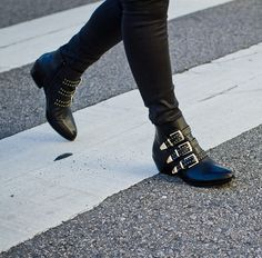 #boots with street cred #buckles #wearable