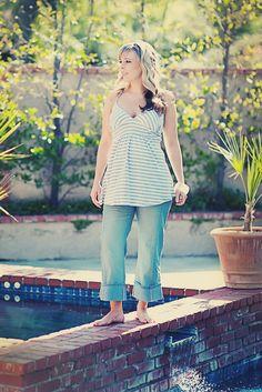Plus Size Maternity Jeans