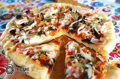...Pomysłowe i pyszne śniadania!: Puszysta pizza z patelni