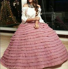 For more details please WhatsApp/ on919831775535 #indiafashionstyle #fashion #hautecouture #style #fashionista #partydress #cocktaildress #fashionblogger #beautiful #wedding #beauty #design #styleblogger #swarovski #fashionlovers #handmade #moda #hautelook #sequins #hautecouturedress #savoirfaire #fashiondesign #model #highfashion #sewing #handembroidery #art #vogur Indian Attire, Indian Wear, Indian Dresses, Indian Outfits, Lehenga Designs, Indian Designer Wear, Blouse Designs, Dress Designs, Dream Dress