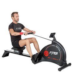 nice Fytter Cardio Multi - Máquina de remo para fitness, color negro
