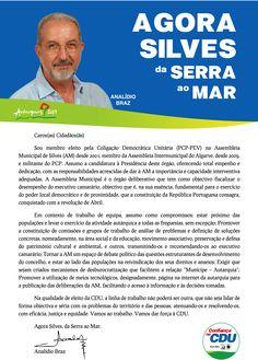 Carta do Candidato Cabeça de Lista à Assembleia Municipal de Silves.  Autarquias 2013. #Silves #CDU #Autárquicas2013