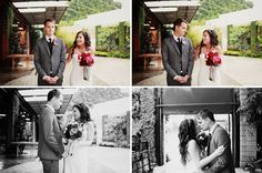 Their first look session - I love how it's front facing to see both reactions in the same frame.