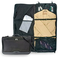 Tribeca Nylon Tri-fold Carry-on Garment Bag - Overstock™ Shopping - Great Deals on Traveler's Choice Garment Bags