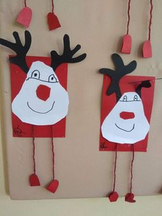 5 Awesome DIY Easy Christmas Ornaments Design Ideas Source by ineressl Easy Christmas Ornaments, Christmas Crafts For Kids To Make, Preschool Christmas, Christmas Mood, Christmas Activities, Preschool Crafts, Simple Christmas, Kids Christmas, Holiday Crafts
