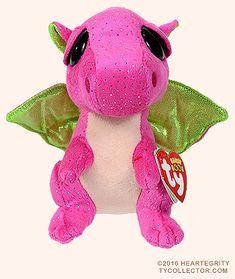 Darla - pink dragon - Ty Beanie Boos Ty Babies 9baa6b91b148