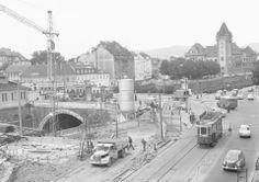 Kennedybrücke 1962