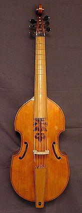 Viola da gamba maker Marco Ternovec