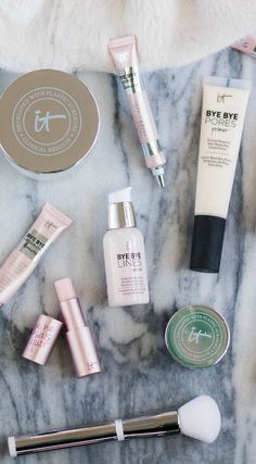An honest review of the new It Cosmetics at Sephora collection, including the It Cosmetics Bye Bye Makeup 3-in-1 Makeup Melting Cleansing Balm, Bye Bye Lines Serum Advanced Anti-Aging Wrinkle-Smoothing Miracle Concentrate, Bye Bye Under Eye Eye Cream, Bye Bye Pores Primer Oil-Free Poreless Skin-Perfecting Serum Primer, Bye Bye Under Eye Illumination Full Coverage Anti-Aging Waterproof Concealer & Je Ne Sais Quoi Hydrating Color Awakening Lip Treatment from beauty blogger Ashley Brooke…