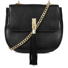 65862b28715b TOPSHOP Tassel Front Saddle Bag (245 MYR) ❤ liked on Polyvore featuring bags