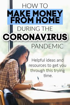 10 Ways to Earn Money from Home Amid the Coronavirus Pandemic 10 Ways to Earn Money from Home Amid the Coronavirus Pandemic Earn Money From Home, Earn Money Online, Make Money Blogging, Online Jobs, Saving Money, Online Income, Saving Tips, Ways To Get Money, Make Easy Money