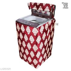 Appliance Covers E-Retailer™ Polyester Cotton Top Load Washing Machine Cover (Size : Suitable For 6 KG to 7.5 KG, Color : Maroon)   Material: Polyester Capacity: 6 To 7.5 kg Size(L X W X H): 23 in x 35 in x 22 in  Description: It Has 1 Piece Of Top Load Washing Machine Cover Work: Printed Sizes Available: Free Size *Proof of Safe Delivery! Click to know on Safety Standards of Delivery Partners- https://ltl.sh/y_nZrAV3  Catalog Rating: ★4.1 (4332)  Catalog Name: Free Mask Colorful Classy Top Load Washing Machine Covers Vol 19 CatalogID_521688 C131-SC1624 Code: 562-3731971-