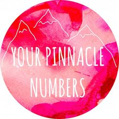 pinnacle numbers Tap Into the 4,000 Year Old Science of Numerological Analysis with a Free Numerology Report! Your Name is No Accident!!! Be an Affiliate for FREE :) http://video.numerologist.com/free-video.php?utm_source=shiftup247&hop=shiftup247