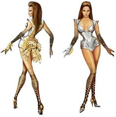 Thierry Mugler Costumes Beyonce's Sasha Fierce - FashionTribes.com