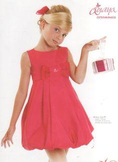 Vestido Niña Rojo