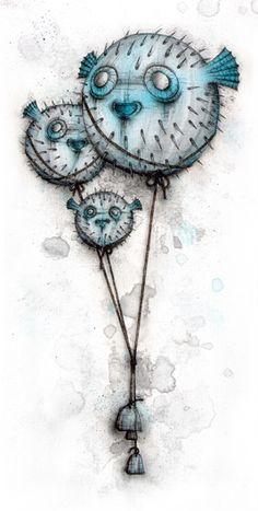 Porcupinefish - Kaitlin Beckett