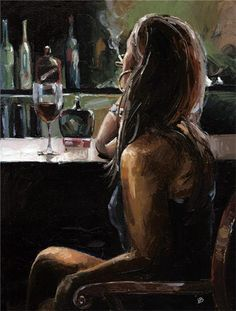 Victor Bauer 1969   American Knife Figurative painter