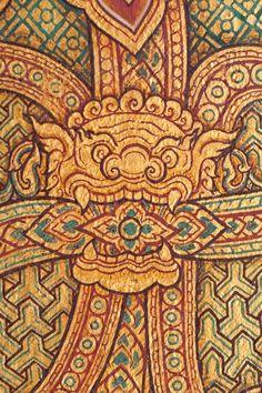 Stock image of 'Thai patterns'