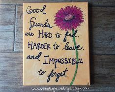 Items similar to Long distance friendship best friend gift friend birthday gift best friend canvas friendship quotes long distance friendship gift on Etsy – Gift Ideas Presents For Best Friends, Diy Gifts For Friends, Bff Gifts, Best Friend Gifts, Sister Gifts, Birthday Quotes For Best Friend, Friend Birthday Gifts, Friend Quotes, Birthday Presents