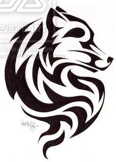 Find Out What Scorpion and Scorpion Tribal Tattoos Mean Tribal Drawings, Tribal Sleeve Tattoos, Tribal Art, Tribal Wolf Tattoos, Wing Tattoos, Wolf Tattoo Design, Tribal Tattoo Designs, Wolf Silhouette, Stammestattoo Designs