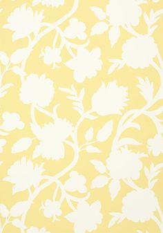 CABRERA, Yellow, T35135, Collection Graphic Resource from Thibaut