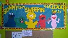 Sesame street bulletin board. | Infant Room CCN | Pinterest ...