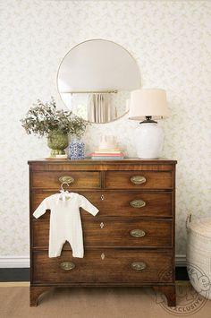 Antique Nursery, Vintage Nursery Girl, Home Design, Interior Design, Room Interior, Design Ideas, Design Room, Baby Design, Design Design