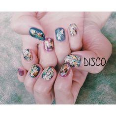 """Nail by @nagisakaneko #disco #disconail @disco_tokyo"""