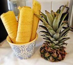 Pineapple Fruit Roll-UpsDried pineapple is one of my favorite low fat snacks. It's sweet, tangy, and addicting. Like a potato chip you can't eat just one. My daughter shares my love of …