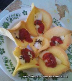 Kála virág | Igazán különleges sütemény, Szilvia receptje, köszönjük szépen! Íme az elkészítése: http://webcukraszda.hu/edesseg_search.php?id=1938