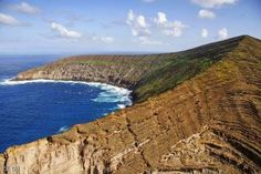 Lehua Crater and Sea Caves