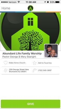 Abundant Life Family Worship in New Brunswick, New Jersey #GivelifyChurches