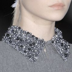 gorgeous beaded collar