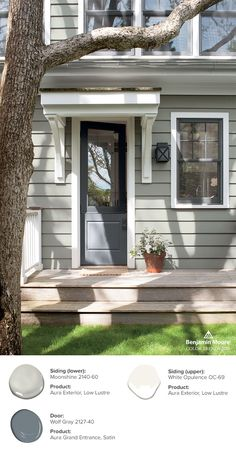 44 best color trends 2018 images on pinterest in 2018 - Trending exterior house colors 2017 ...