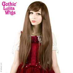 Bella Collection- Golden Chestnut Brown Mix#wig4wig #longhair #wig #hairstyle #straighthair #straightwig #pretty #cute #natural #style #fashion #nice #coolhair #beautiful #longhairdontcare #rapunzel #dailywig #dailystyle #GLW #gothiclolitawigs #dolluxe #IAMDOLLUXE Wig Hairstyles, Straight Hairstyles, Natural Wigs, Anime Wigs, Wig Party, Daily Fashion, Style Fashion, Cosplay Wigs, Big Hair