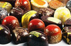 Dessert Professional | The Magazine Online - Raspberry Ganache by Chef Antonio Bachour.