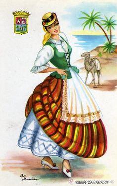 Traje de Islas Canarias